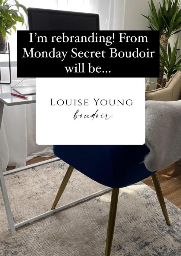 Secret Boudoir Rebrand